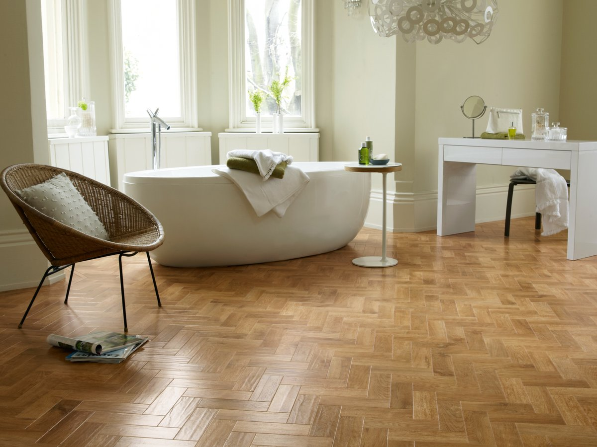how to cut karndean flooring
