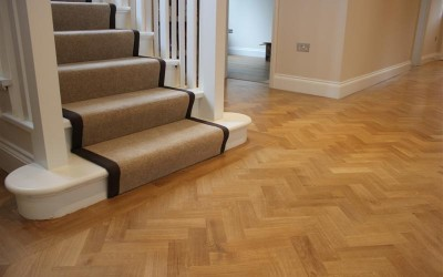 Karndean Wood Flooring Installation in Guildford, Surrey