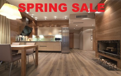 Spring Sale Now On – Great Savings on Flooring & Beds