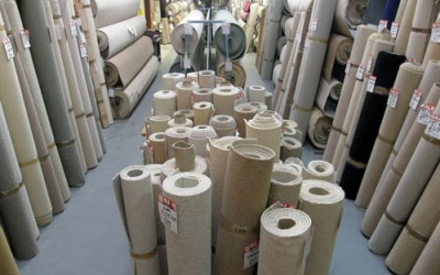 Roll up, roll up. Huge New Year carpet clearance sale now on