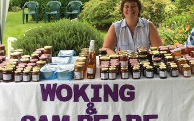 Cycling, Skydiving and Jam at Vincent Flooring – all in aid of Woking Hospice