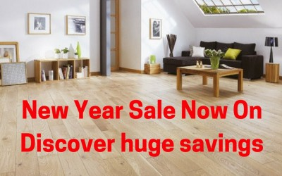 New Year sale now on – Great deals on flooring & beds