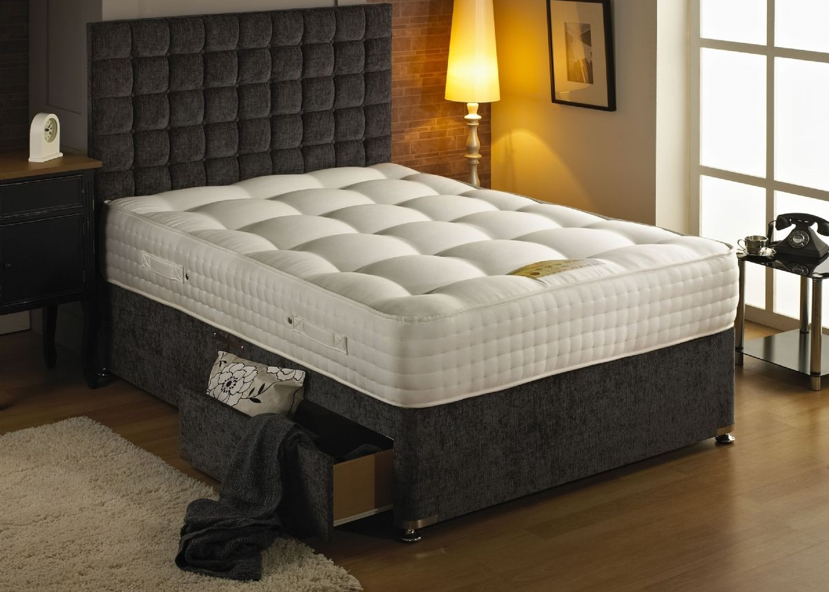 New year sale now on discount floors beds vincent 39 s for Divan bed and mattress sale