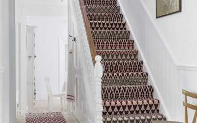 Make a statement of your stairs with the latest carpet & runner designs from Vincent Flooring