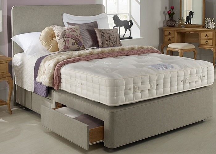 Storage beds from vincent bed centre walton on thames for Hypnos divan beds