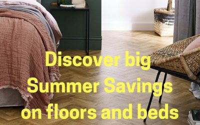 Summer Sale Now On – huge savings on flooring and beds