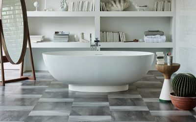 Flooring inspiration | Add luxury vinyl style into your bathroom design