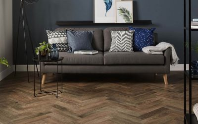 Get on-trend Herringbone style, whatever type of flooring you choose